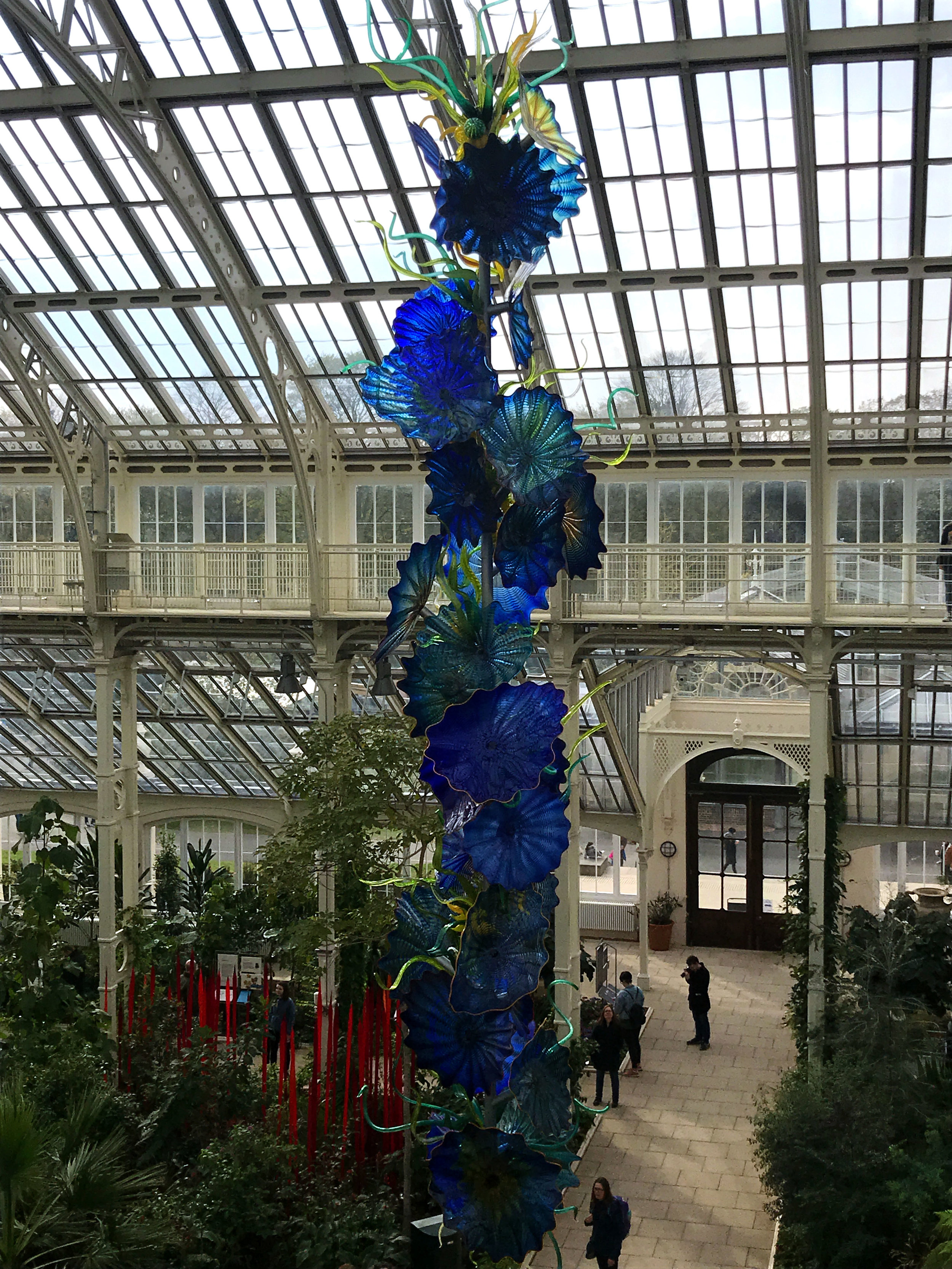 Temperate House Persians , 2019, by Dale Chihuly