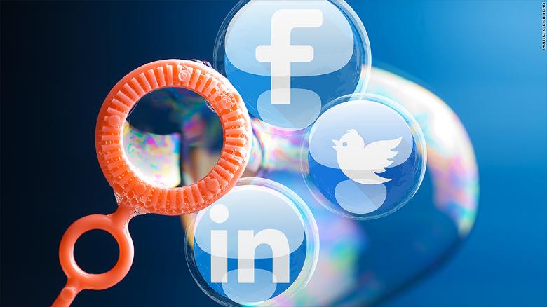 Social media bubble CNNMoney