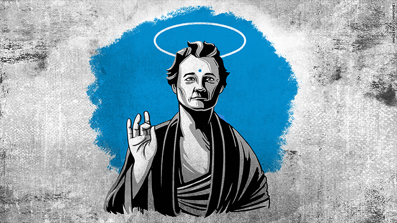 The Wisdom Project: his holiness, the Bill Murray CNN