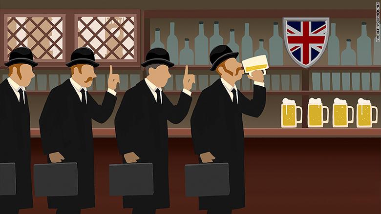 Last Call: Lloyds of London Bans Boozy Lunch CNNMoney