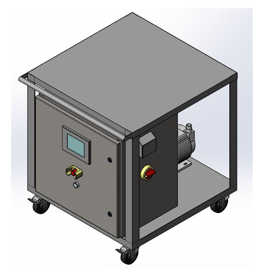 Light Duty Pump & Flowmeter Cart System