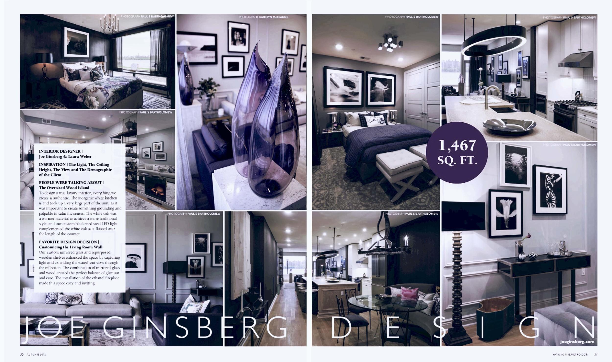 Design Studio in Manhattan, NY | Joe Ginsberg Design