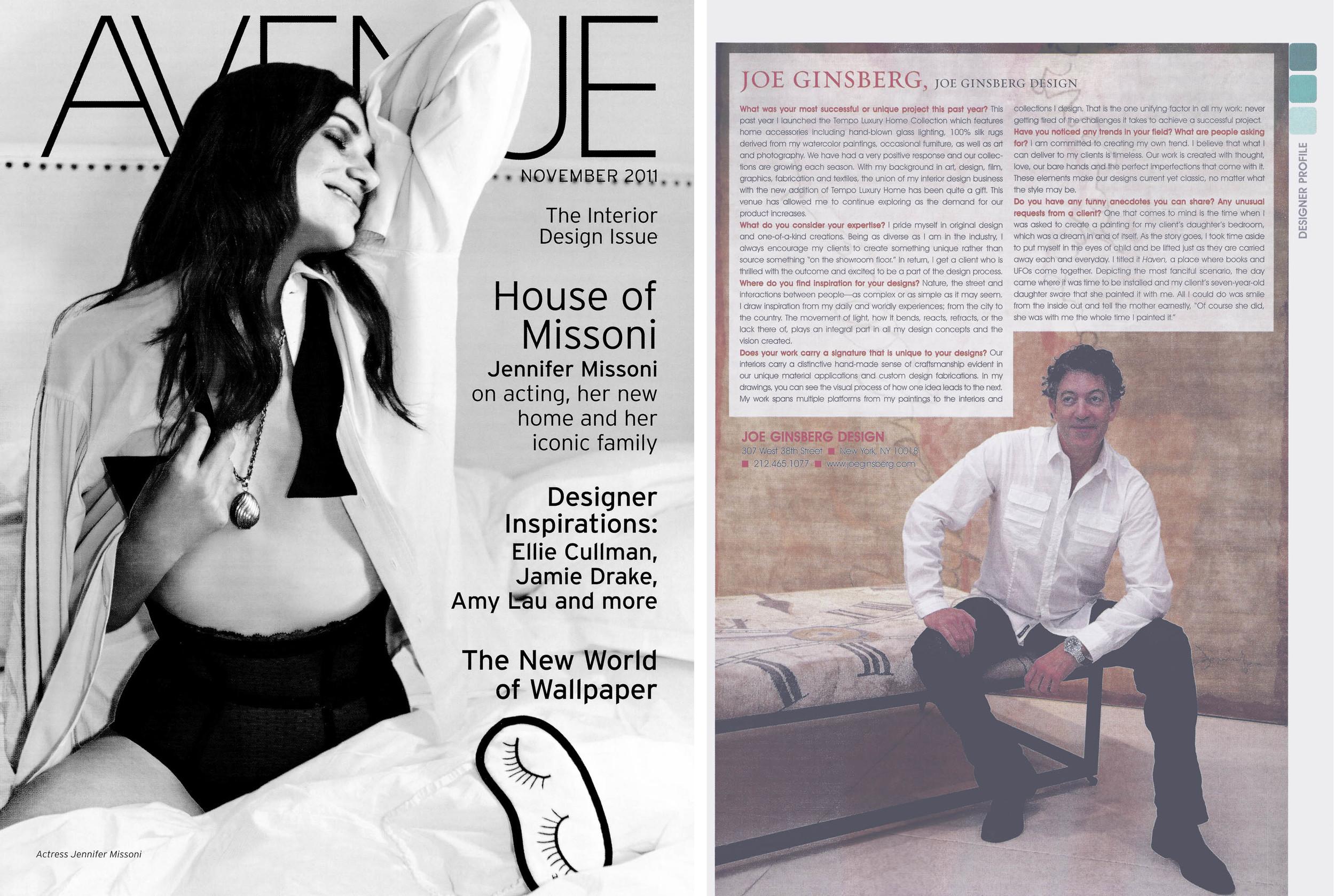 Celebrity interior designer serving the Manhattan, NY area | Joe Ginsberg Design