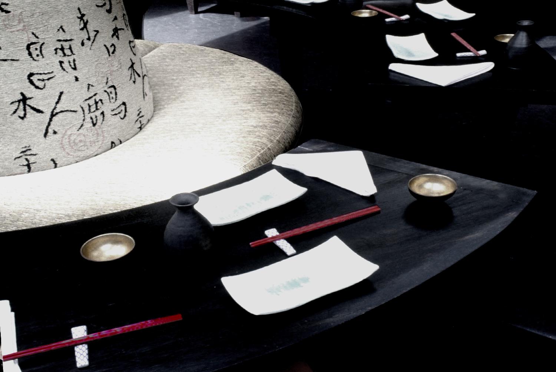 Fushion Restaurant Interior Design - Joe Ginsberg
