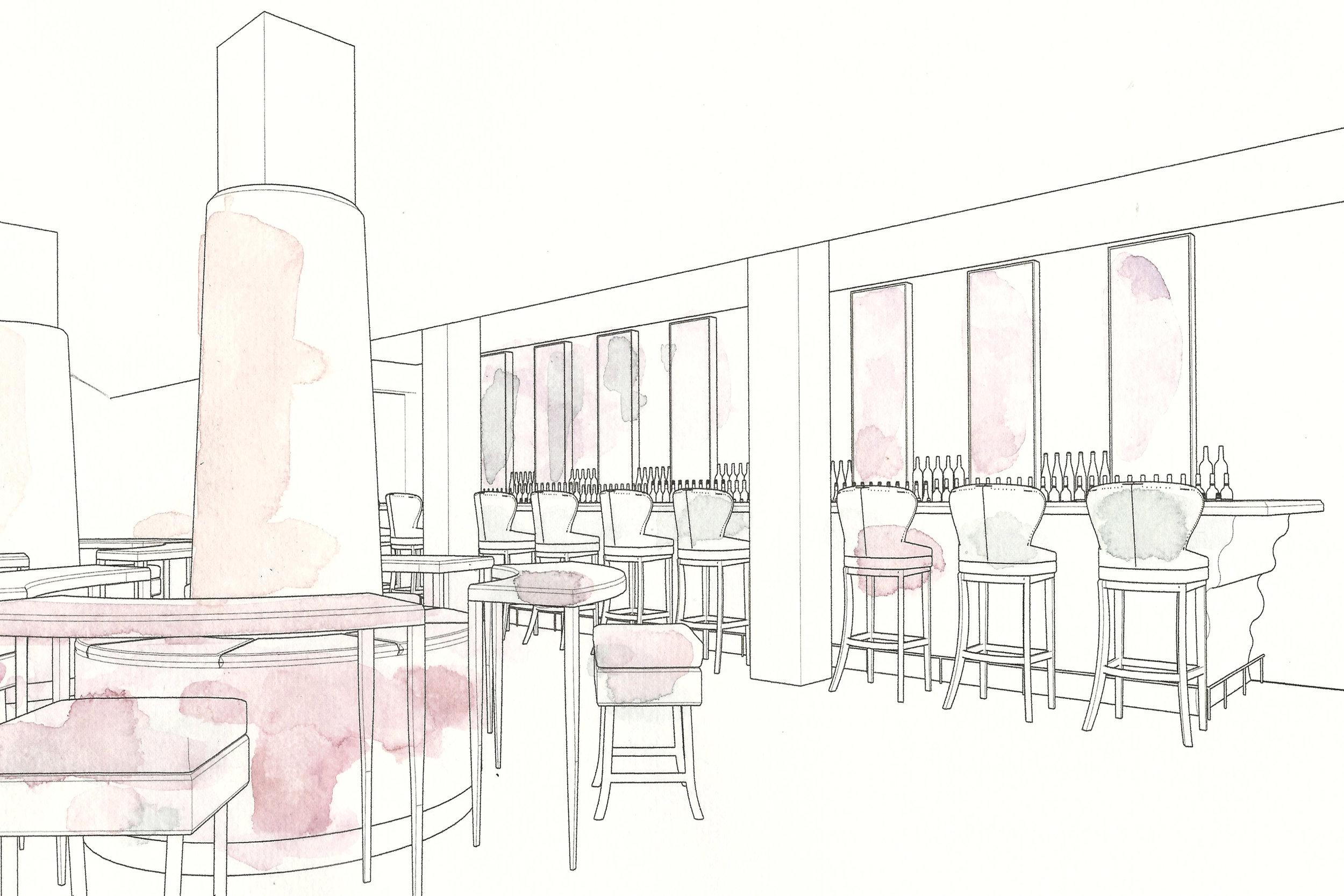 Restaurant Interior Design - Joe Ginsberg
