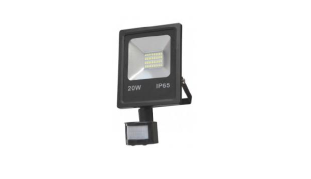 Proyector LED 20W con sensor de movimiento -
