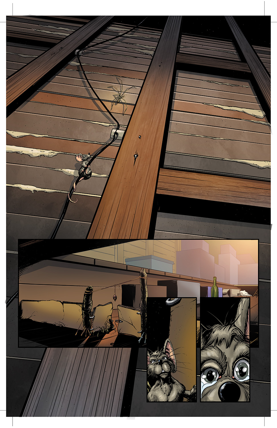 One of my favorite pages from Wretched #1