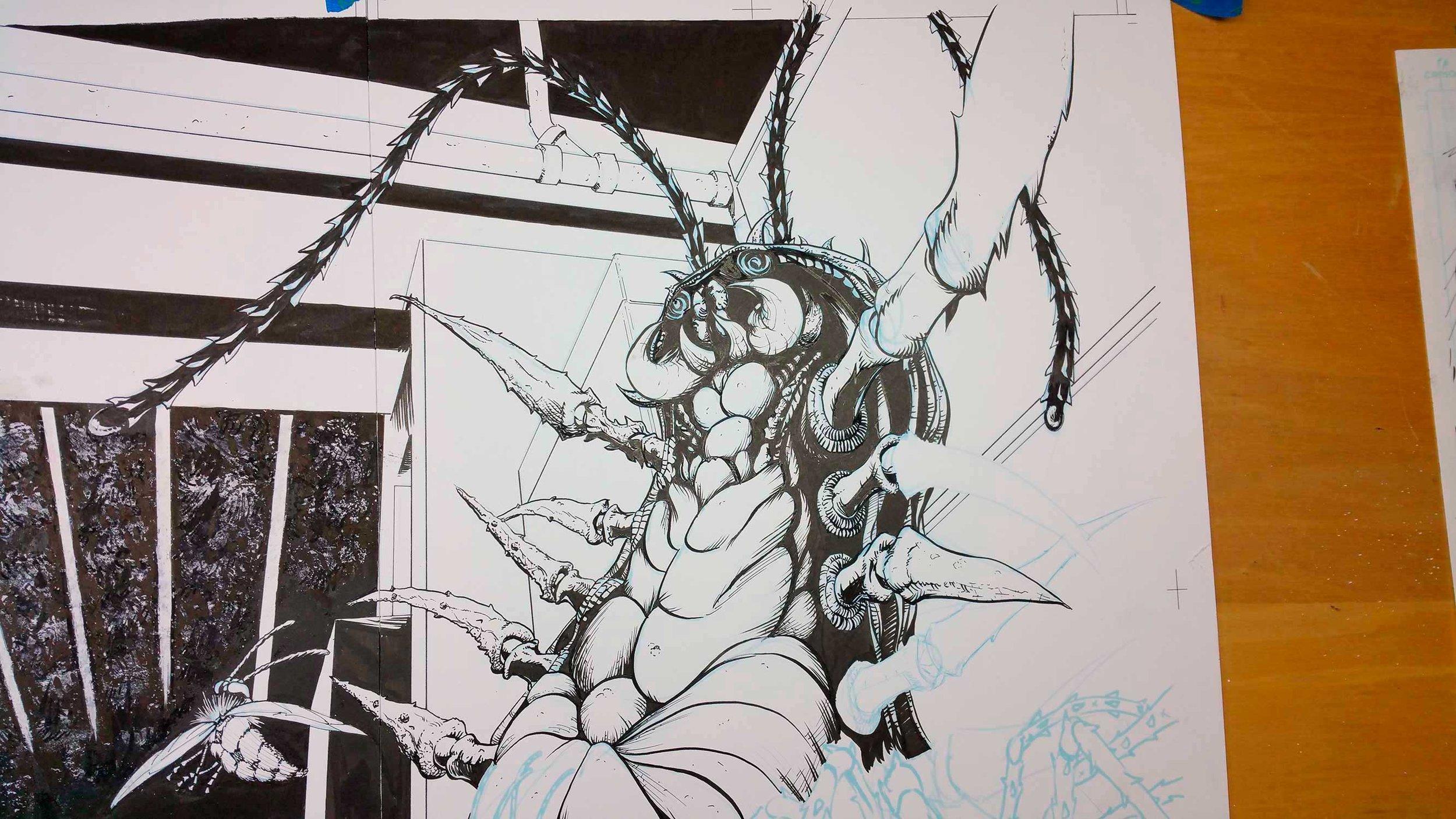 More detail work.