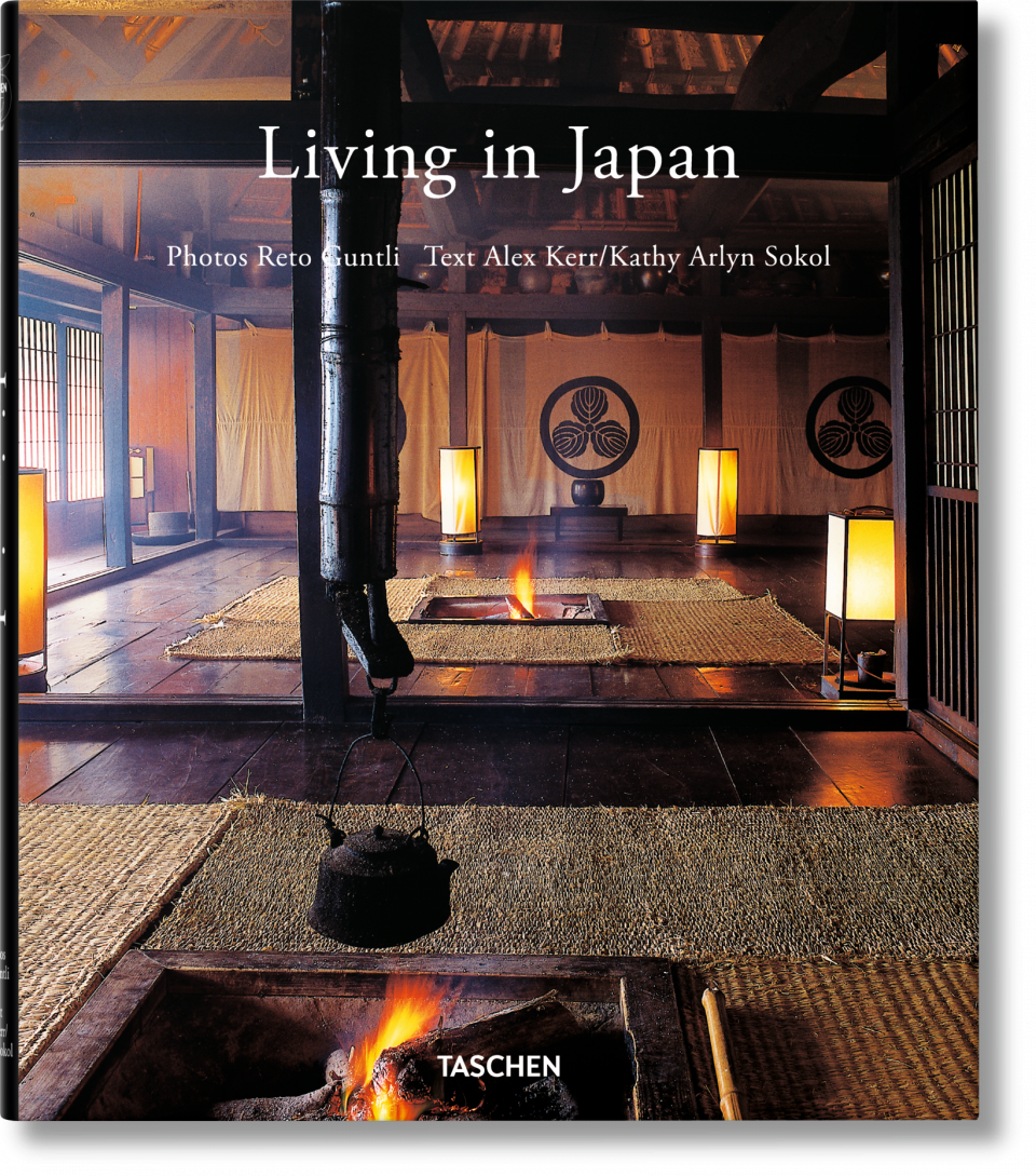 LIVING IN JAPAN BY TASCHEN - $15
