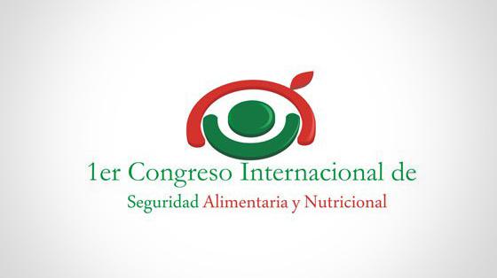 Logo 1er Congreso Internacional de Seguridad Alimentaria y Nutricional