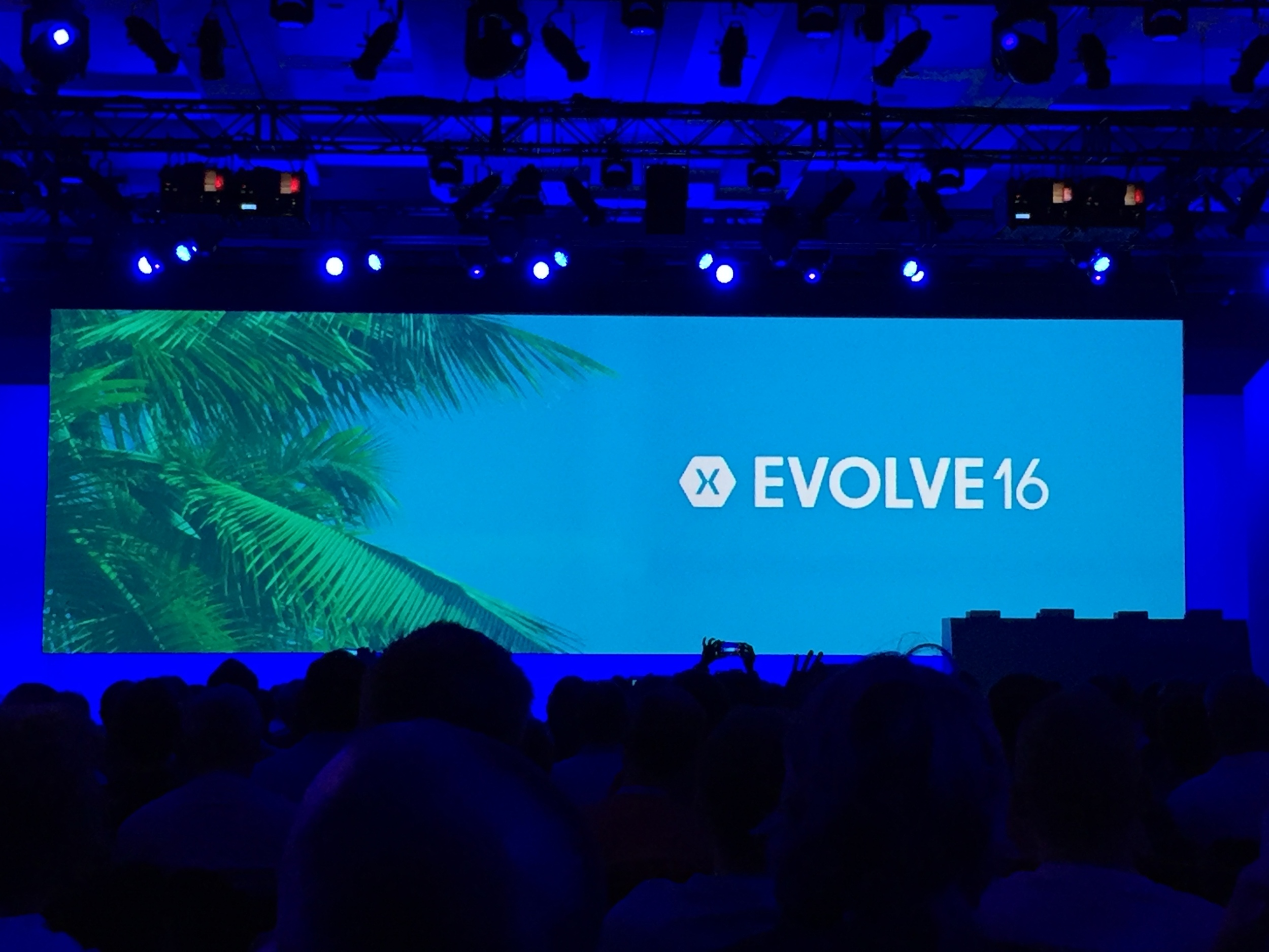Xamarin Evolve 2016 - One of the major app developer conferences