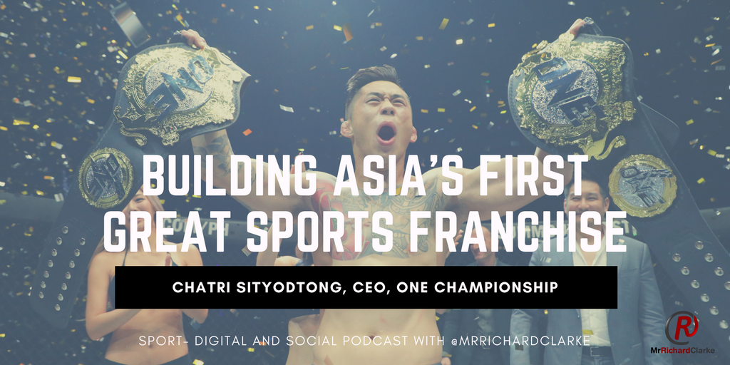 Chatri Sityodtong, right, has built one of the fastest growing sports franchises in the world.