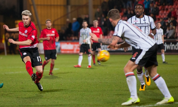 City's Goal of the Season was a 25-yard screamer from Aberdeen loanee Connor McLennan against Dunfermline Athletic