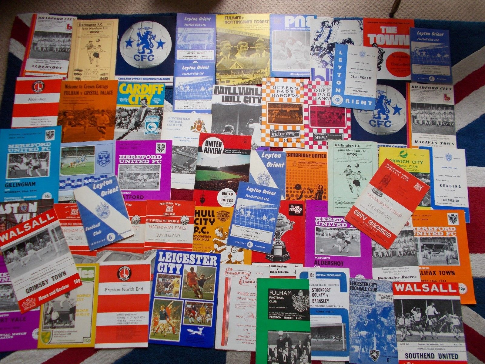 These are not mine but they are the 1970s and 80s programmes I used to collect.
