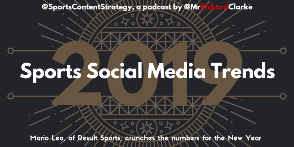 Mario Leo: Sports Social Media Trends For 2019 Sports Content