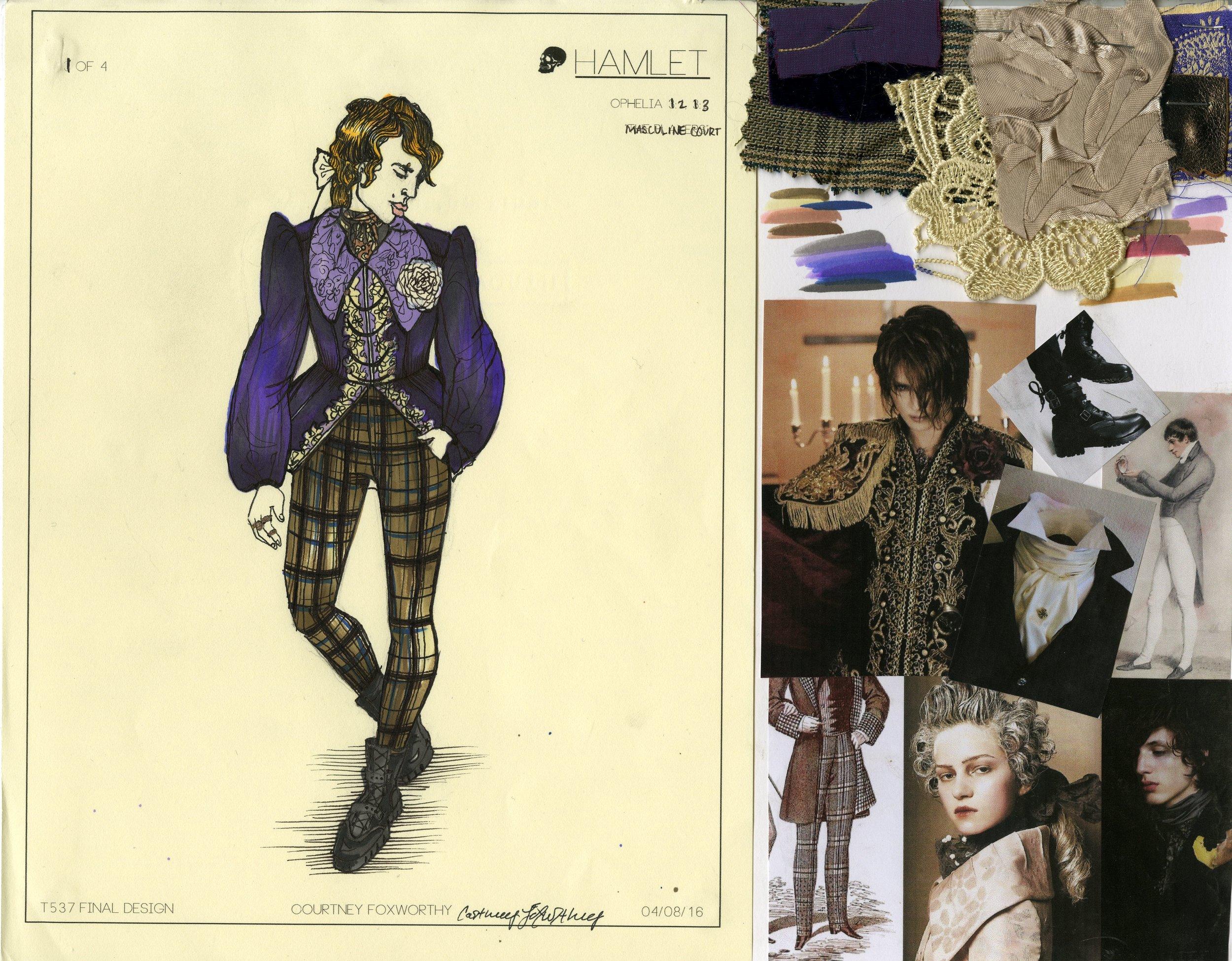 Ophelia Look: 1