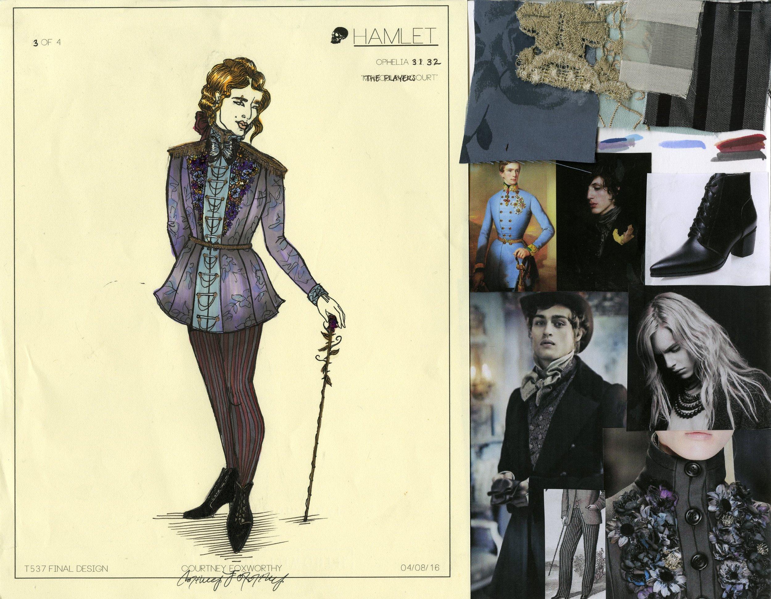 Ophelia Look: 3