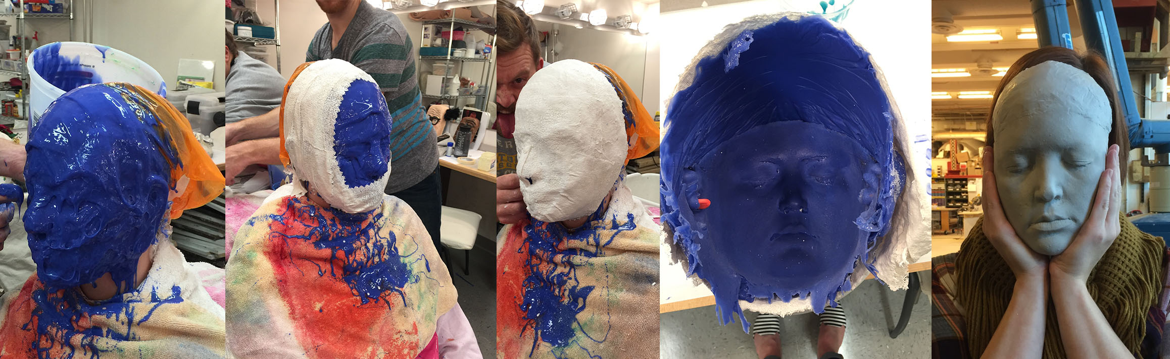 making face molds