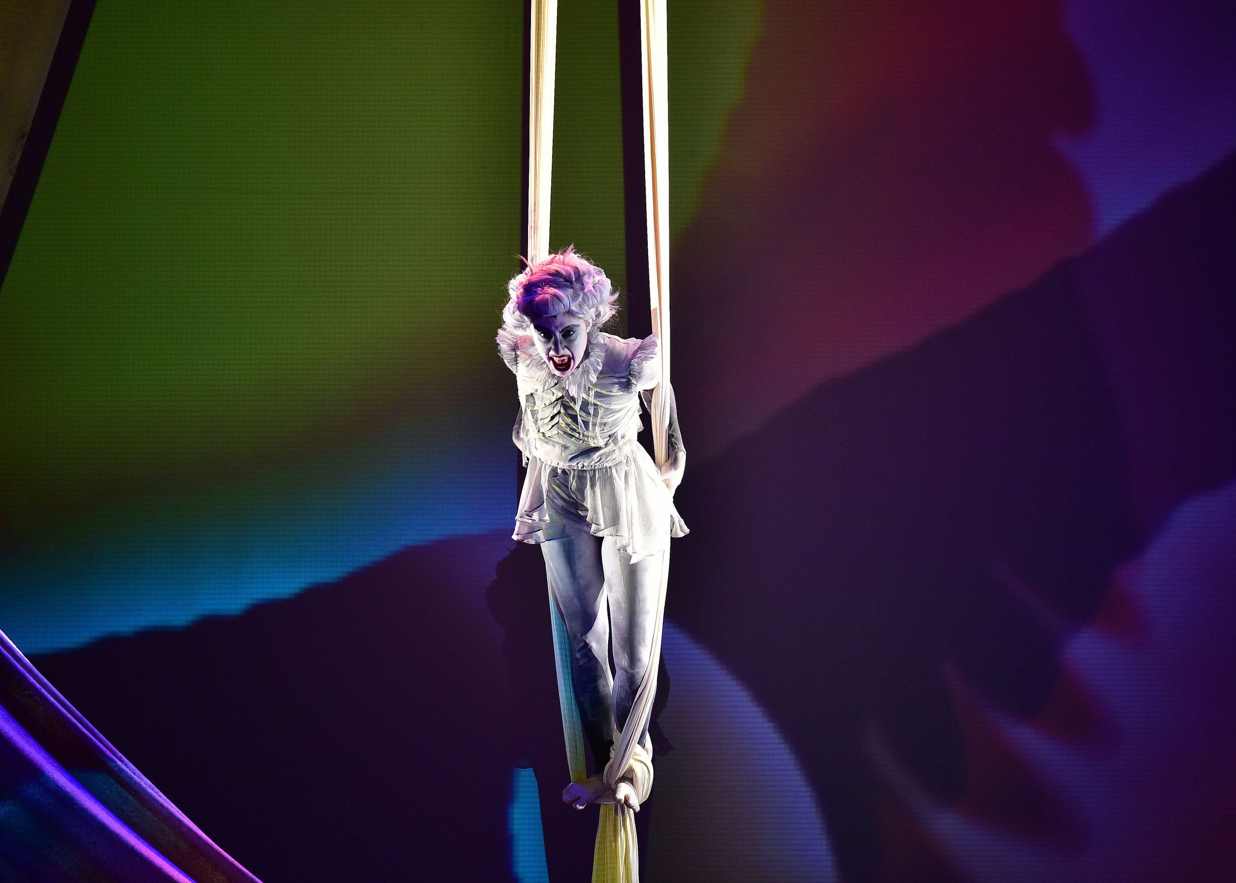 Wind Ariel as the Harpy: Courtney Relyea-Spivack. Photo by Courtney Foxworthy