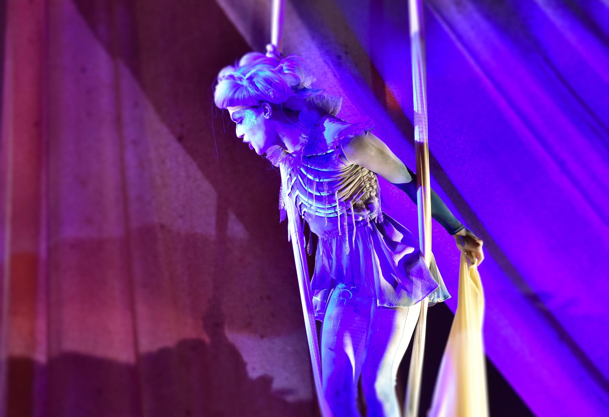 The Harpy Emily Rozman. Photo by: Courtney Foxworthy