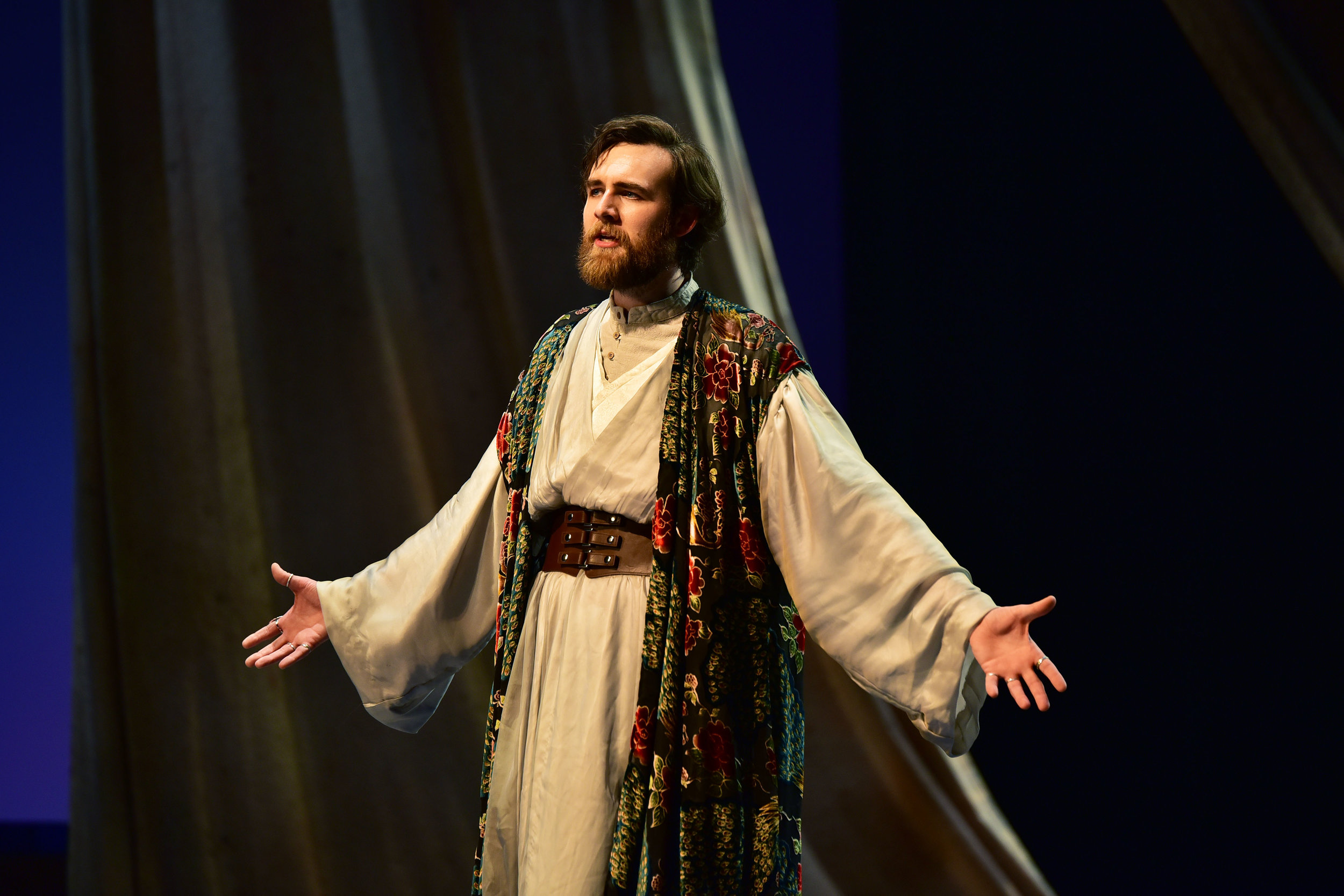 Matthew Murry as Prospero. Photo by: Courtney Foxworthy