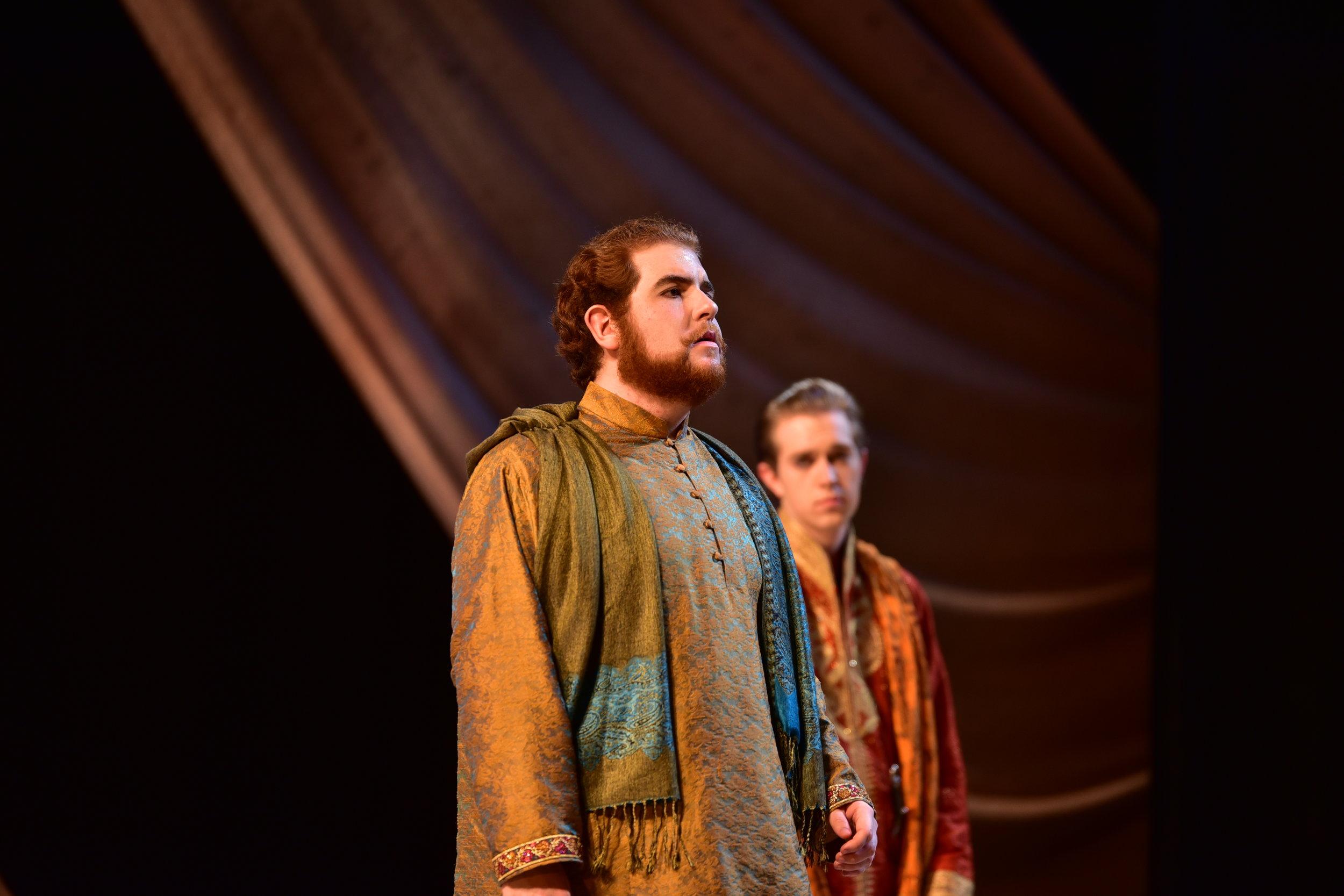 Reid Francis Henry as Gonzalo.