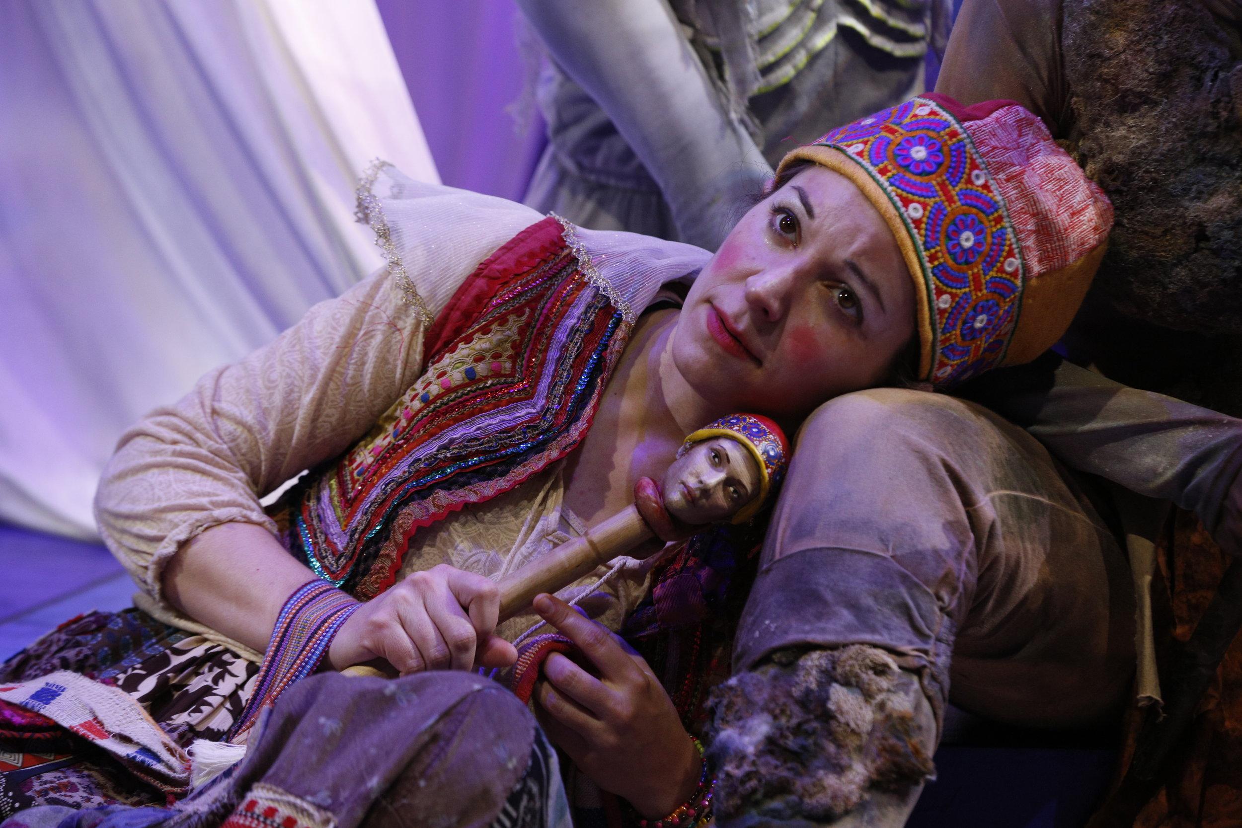 Tar Chiusano as Trinculo. Photo by:Jeremy Hogan