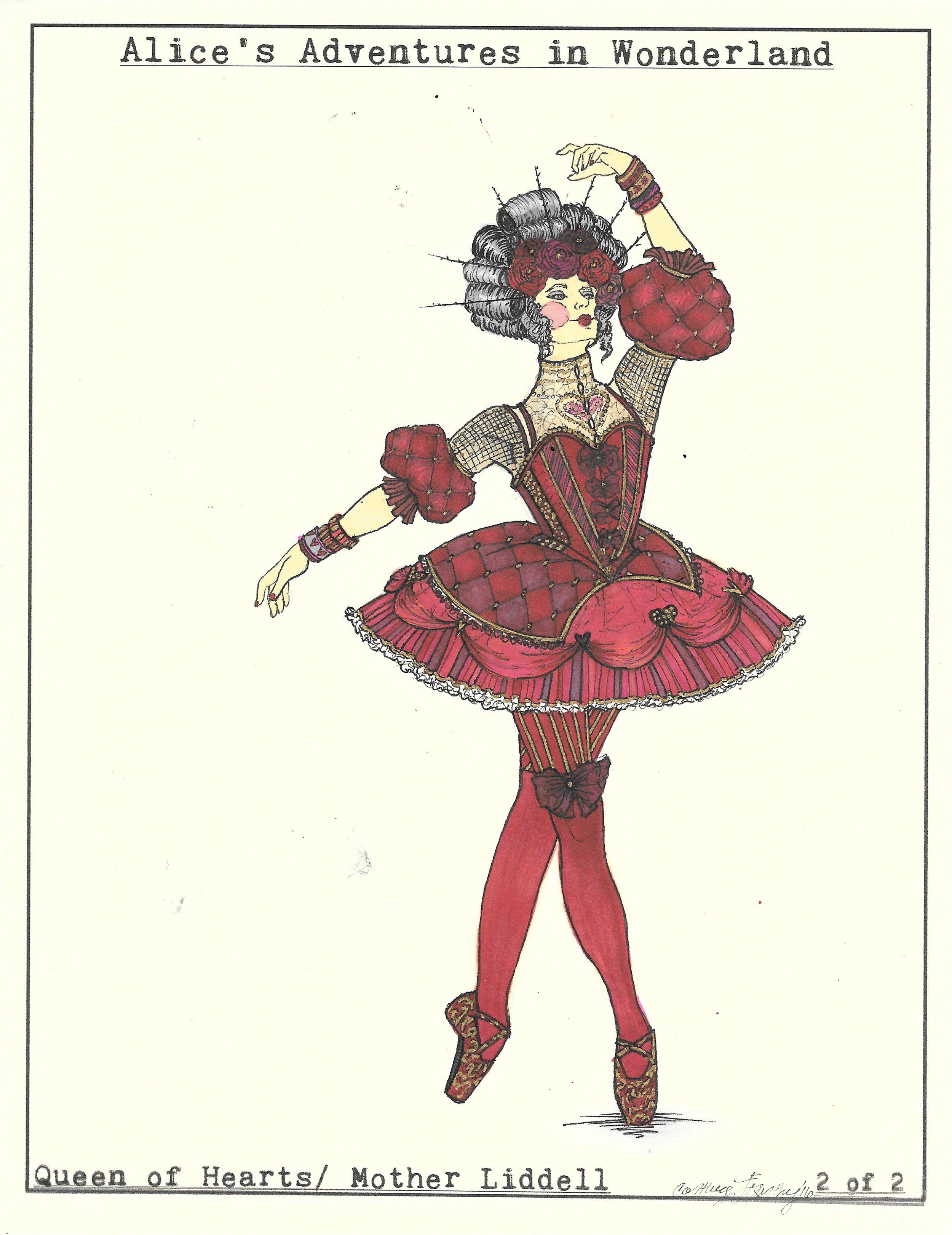 Queen of Hearts 2 of 2. Wonderland
