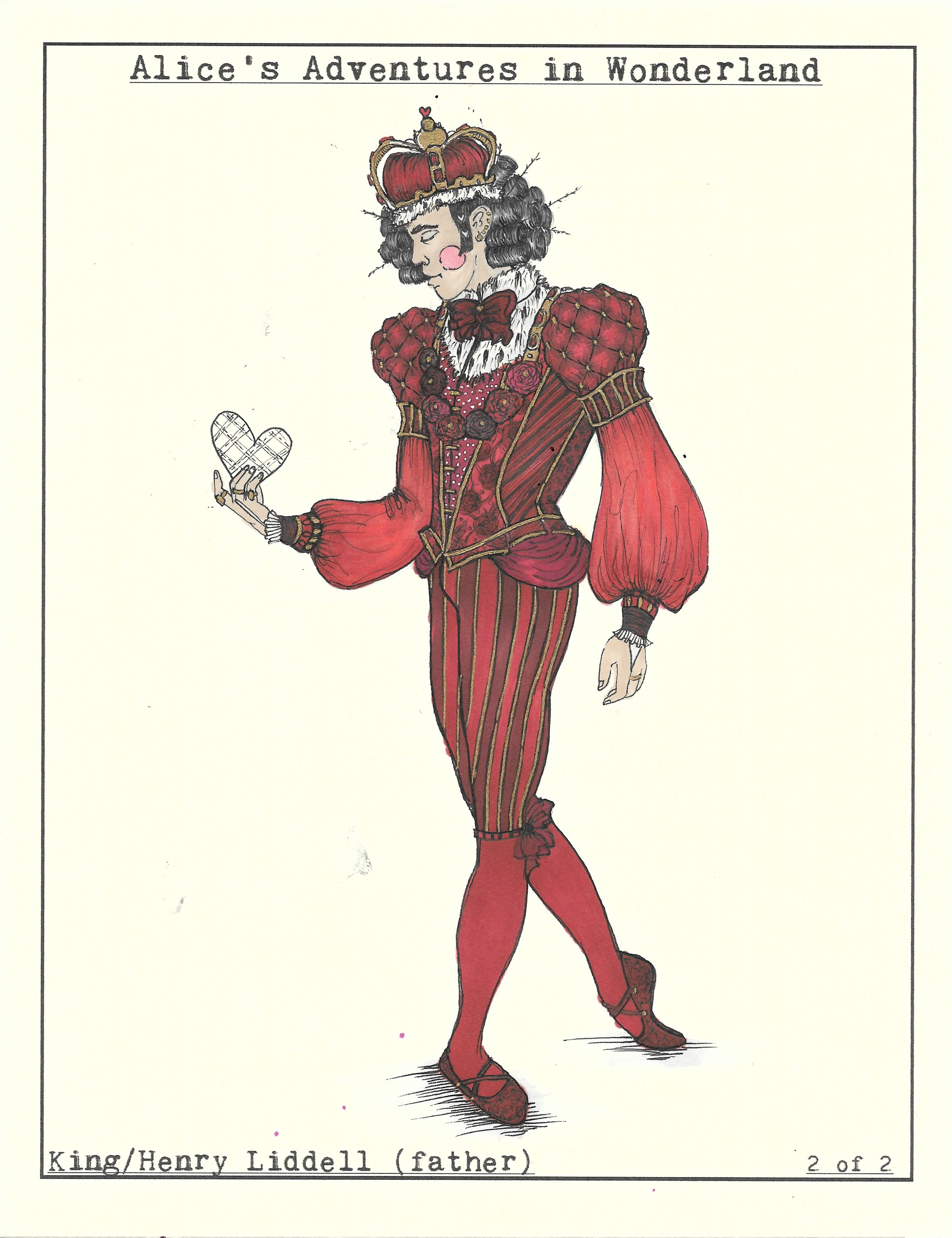 King of Hearts 2 of 2. Wonderland