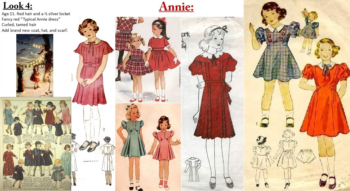 Annie look: 4 research