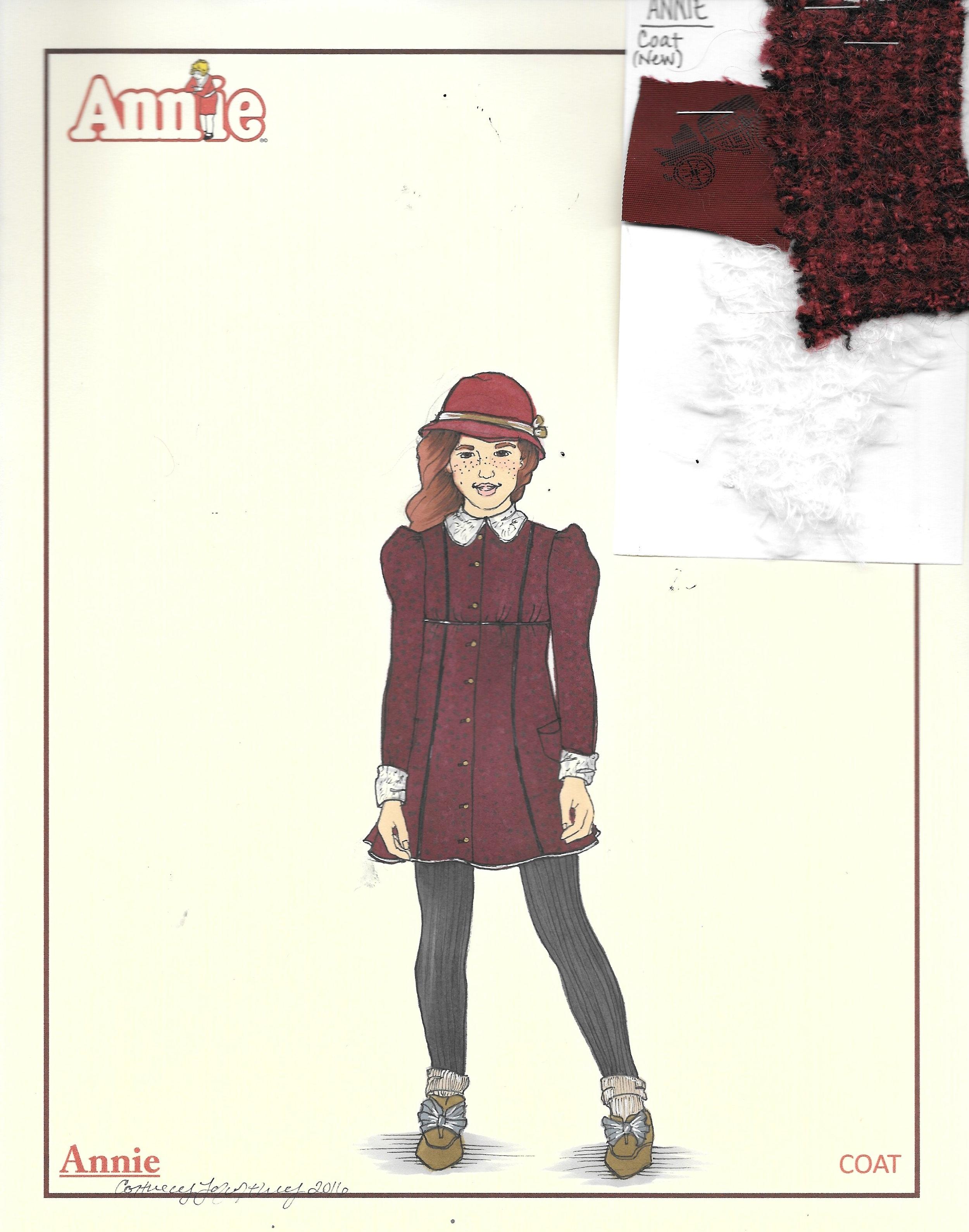 Annie coat research