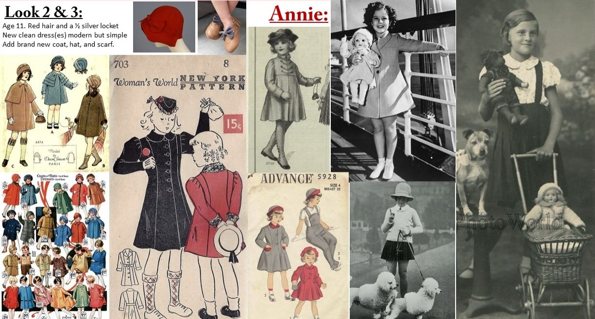 Annie look: 2 & coat research