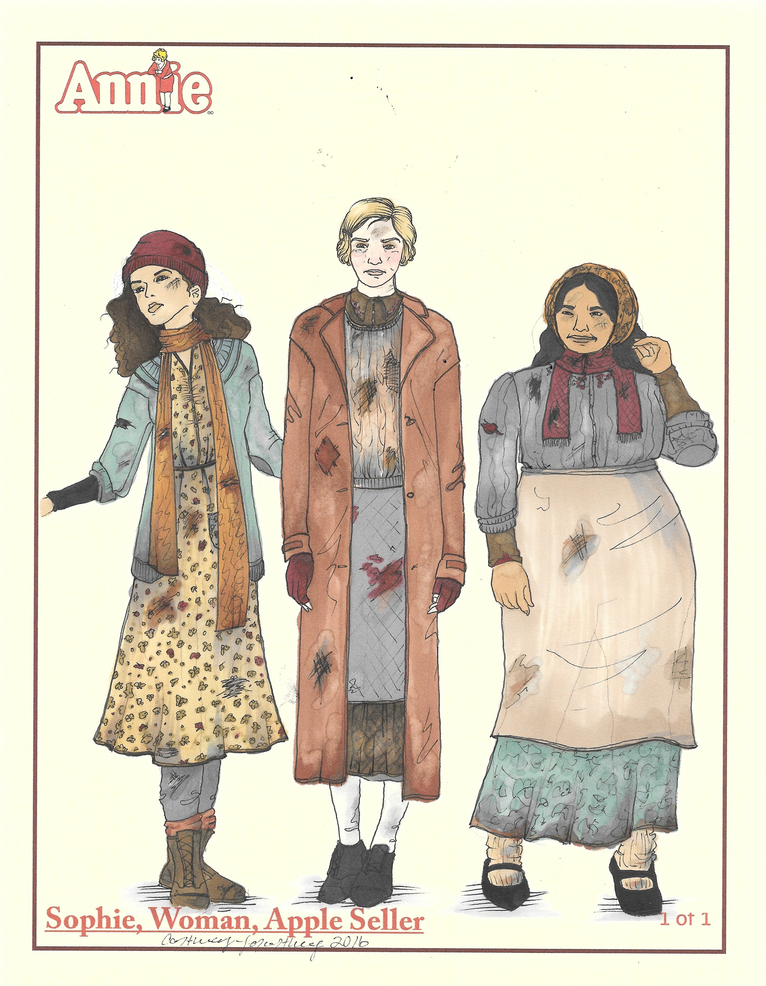 Hooverville women
