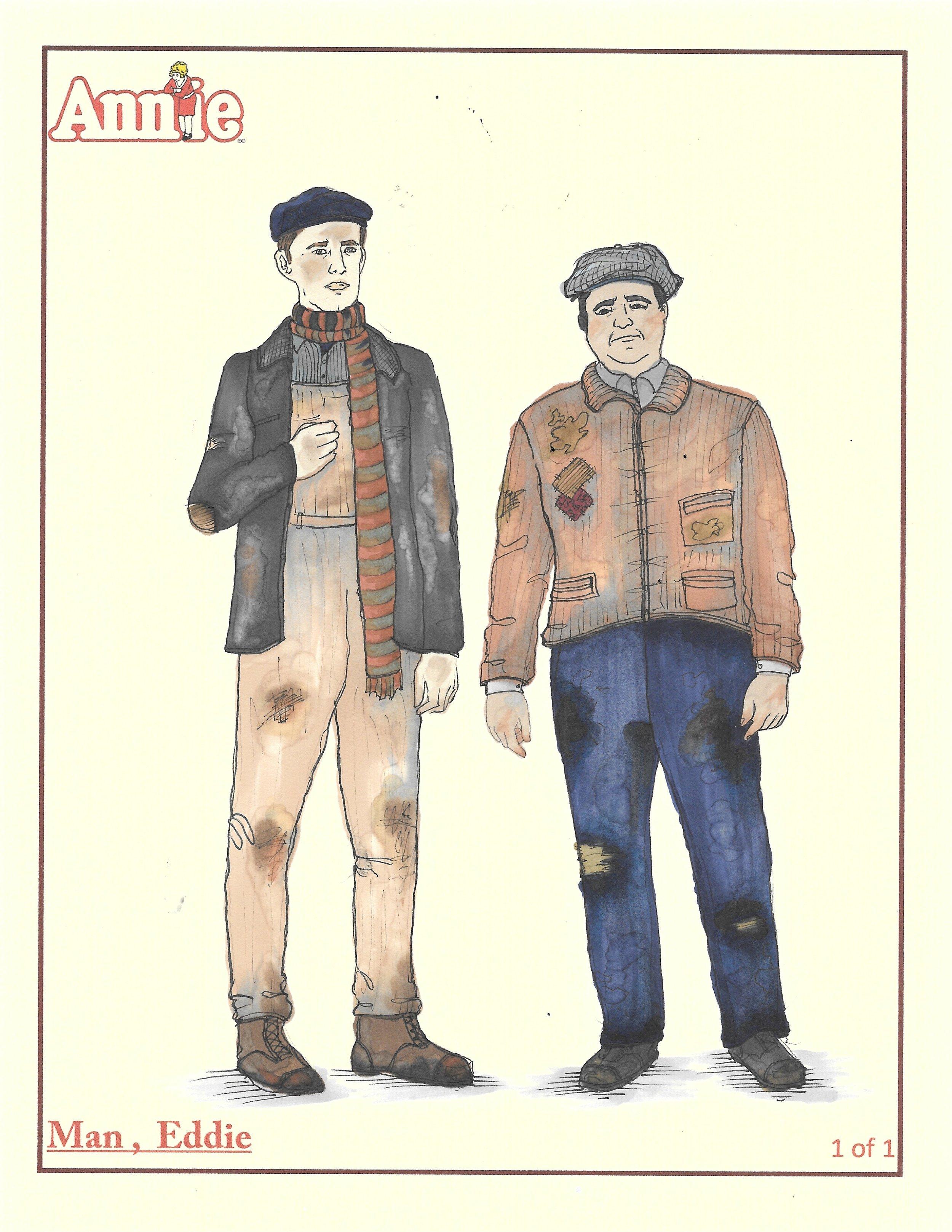 Hooverville men