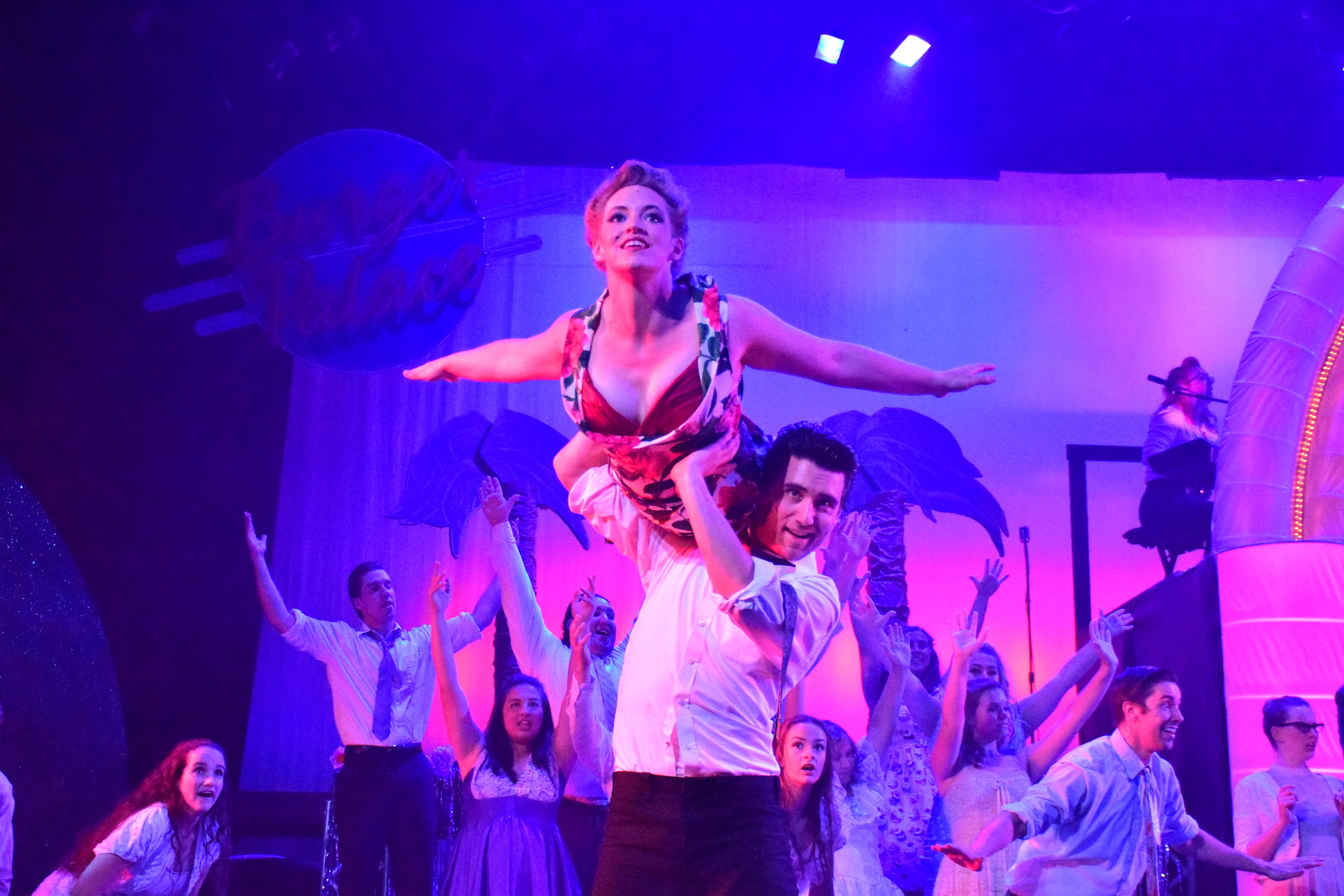 Megan Wiltshire as Cha Cha and Jerrod Galles as Danny