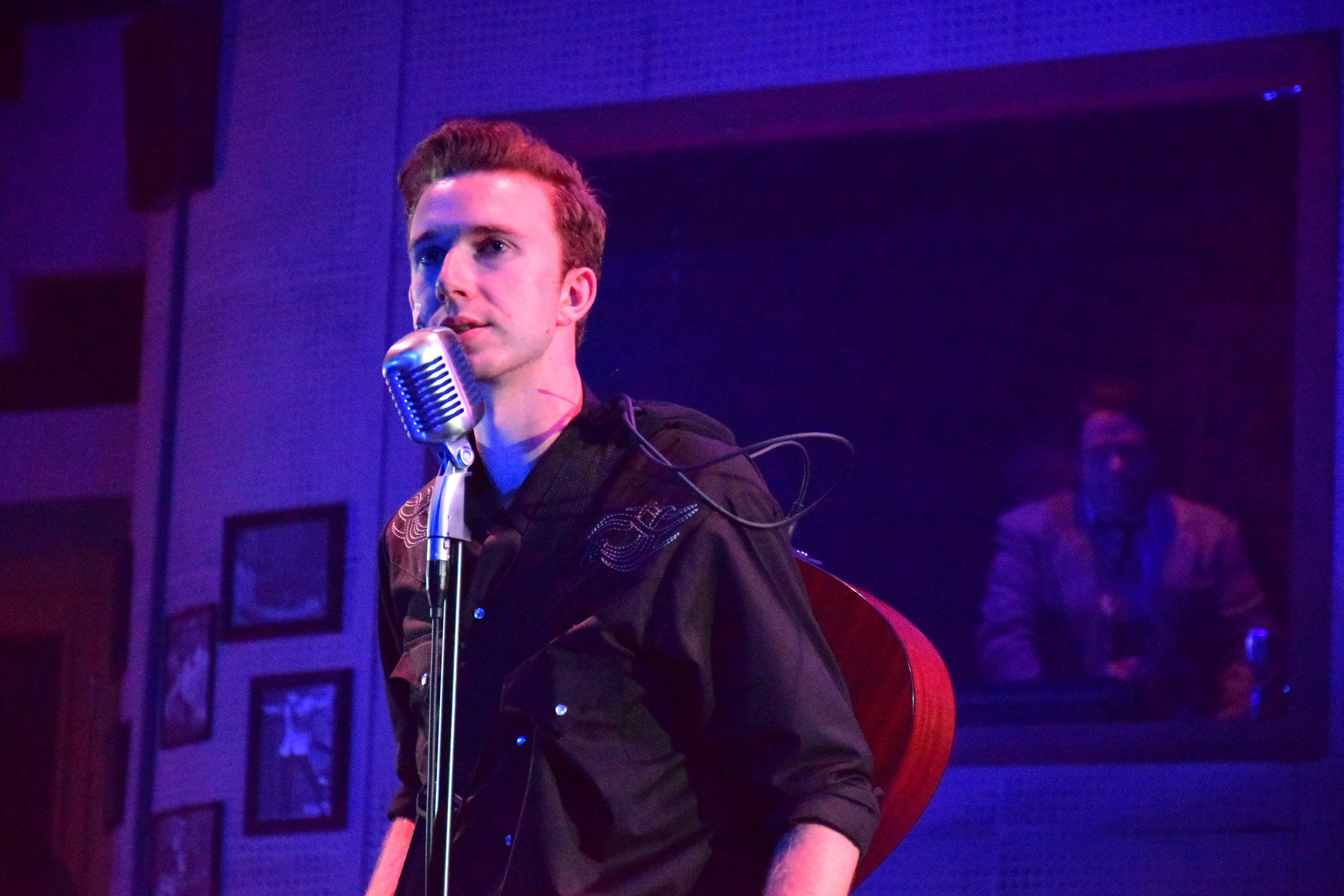 Nathan Snow as Johnny Cash