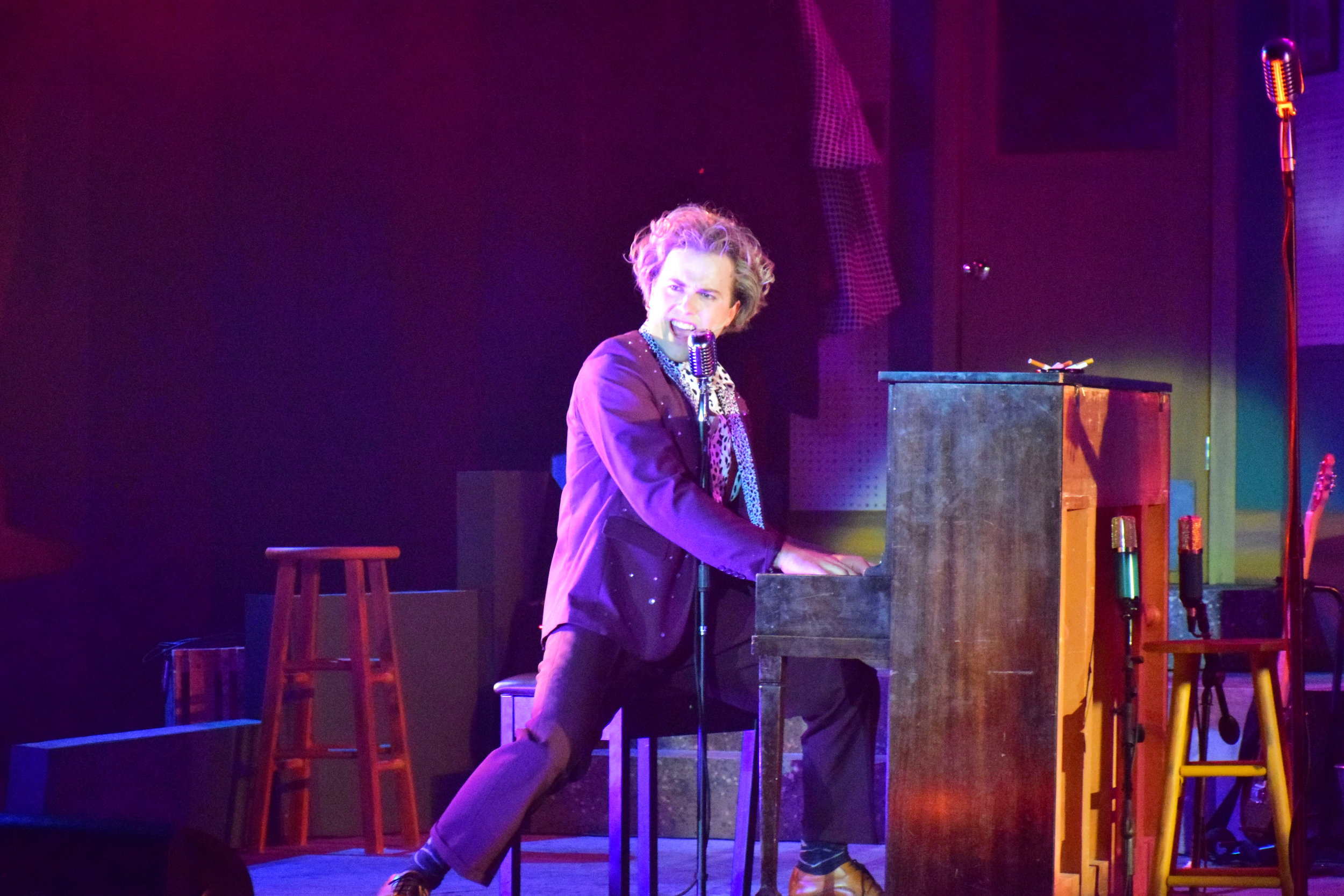 Ross Bridgeman as Jerry Lee Lewis