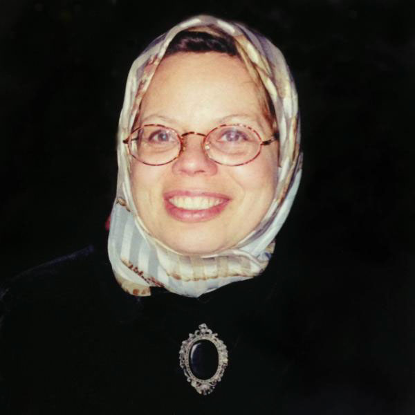 SHARIFA ALKHATEEB (1946–2004)     Muslim Women's Rights Advocate, Domestic Violence Advocate, Educational Consultant, Intercultural Trainer, Mother & Grandmother