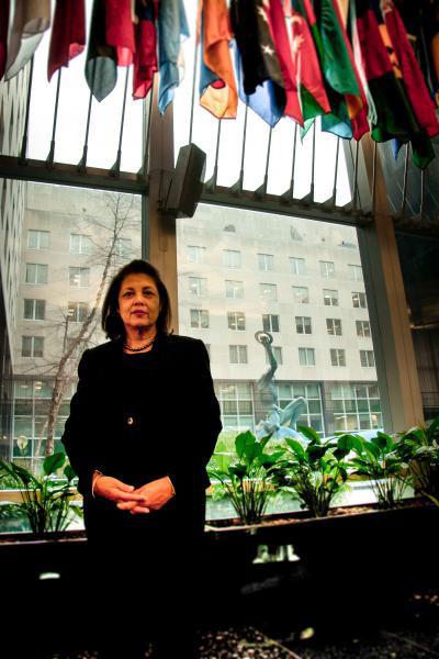 SHIRIN TAHIR-KHELI    Former Senior Advisor to the Secretary of State for Women's Empowerment, Policy Maker & Strategic Issues Writer