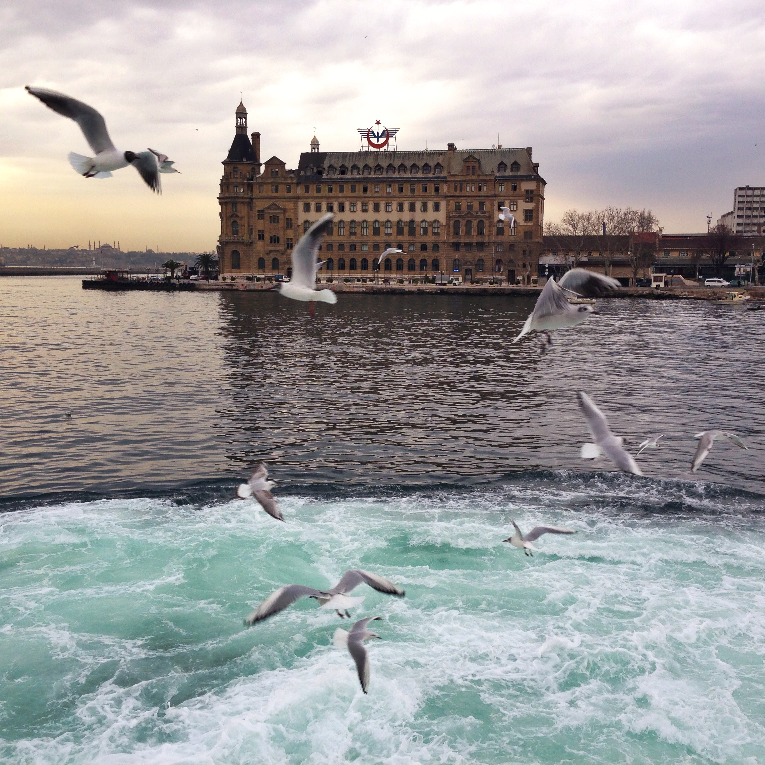 Haydarpasa Train Station |Haydarpasa train station in Kadikoy, Istanbul, on Istanbul's Asian side - built by the Ottomans in 1909. Haydarpasa is Turkey's busiest terminal, temporarily closed while constructing the high-speed Istanbul-Ankara rail. The new line is estimated to reduce the former 6hr ride to 2hrs.