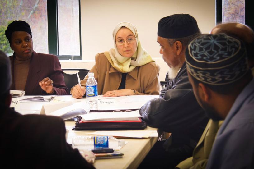 SALMA ELKADI ABUGIDEIRI     Licensed Professional Counselor, Peaceful Families Project Advisory Board Member & Mother of 2 Sons