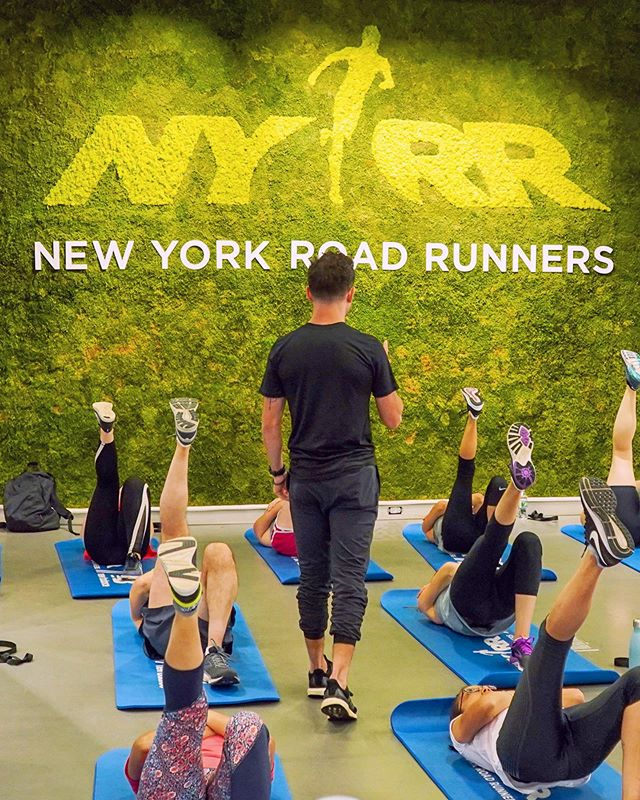 TOMORROW: Free Bread & Butter at the @nyrr RUNCENTER at 7 PM with @matthewlukemeyer. Link in bio to sign up. A solid strength routine is a major key to a successful training plan!