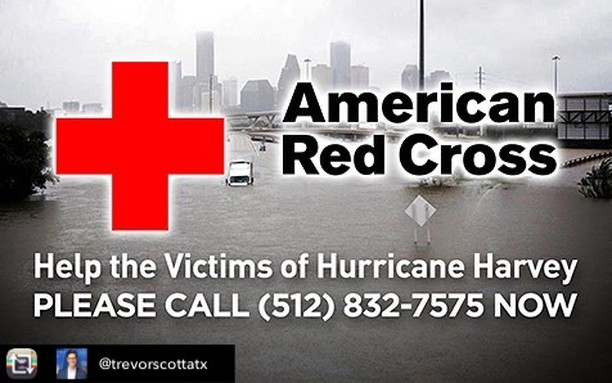 Another option!!! Repost from @trevorscottatx using @RepostRegramApp - We have @redcross_centraltexas volunteers in-studio right now and all day to take your donations. Giving is always good, but there's something special about having that conversation with another Texan on the other end of the line. Call now or anytime today. . . . . . . . . . . . . . . #atx #austin #texasstrong #texasspirit #recovery #relief #help #community #givingback #Harvey #redcross #Harveyrelief #texaslove #instagood #phonebank