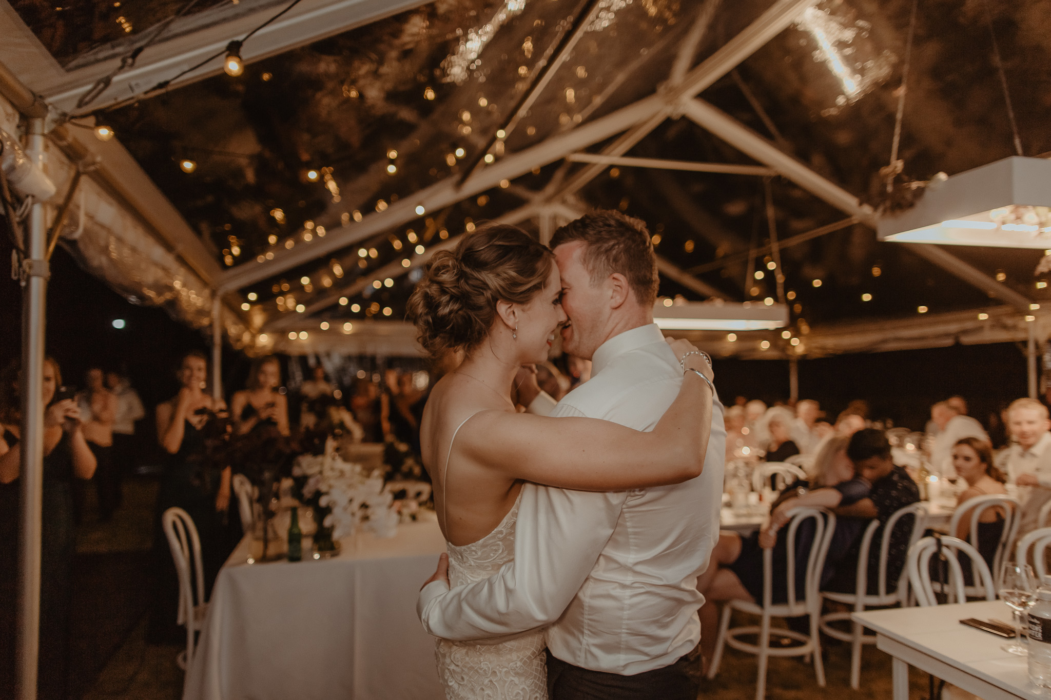 Photo Clear Wedding Marquee