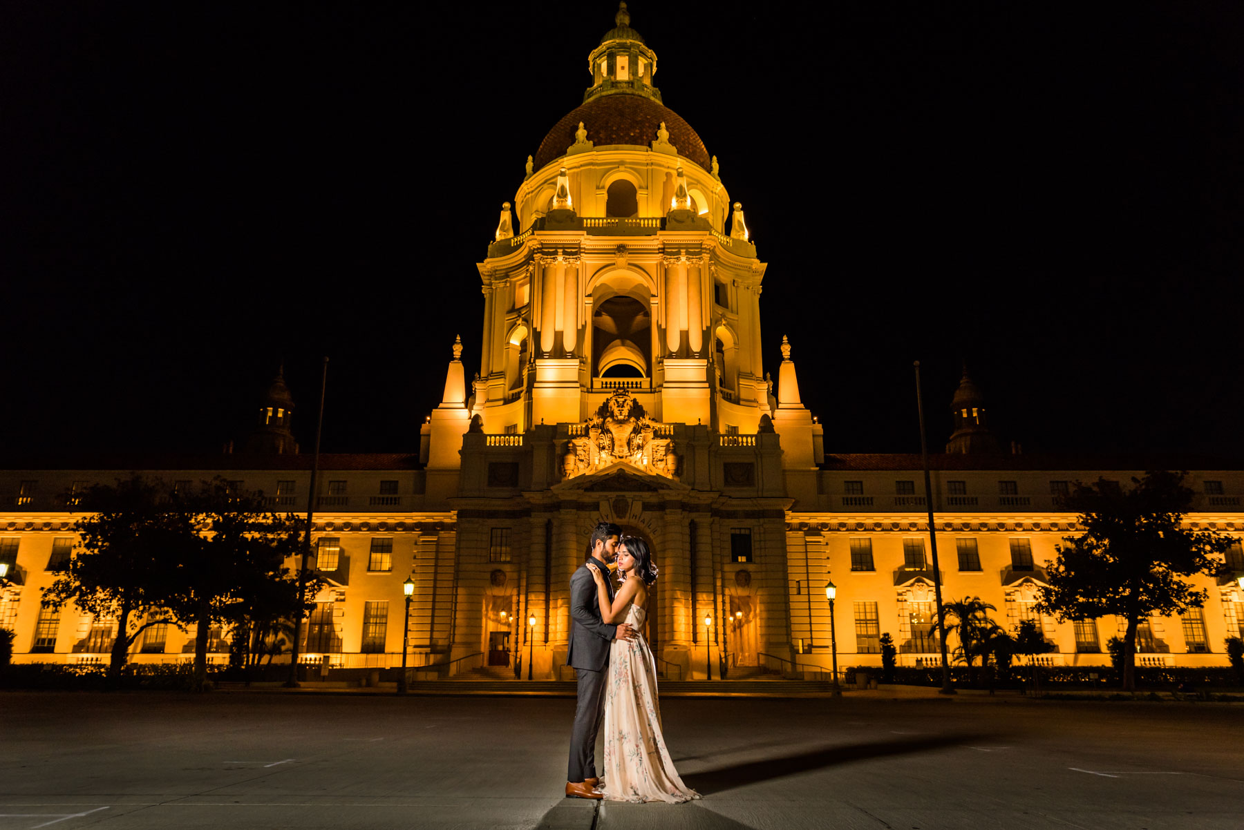 Pasadena-City-Hall-Engagement-Shoot-Isaac-and-Apoorva--2.JPG