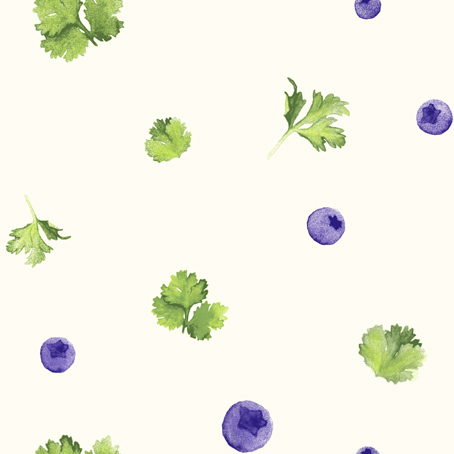 blueberry cilantro