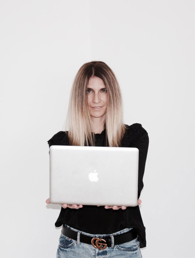 CREATOR OF 'IN GREY SPACE' BLOG, Sophie Marshall