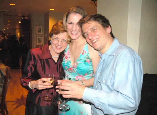 With Anne Ewers and Keith Lockhart