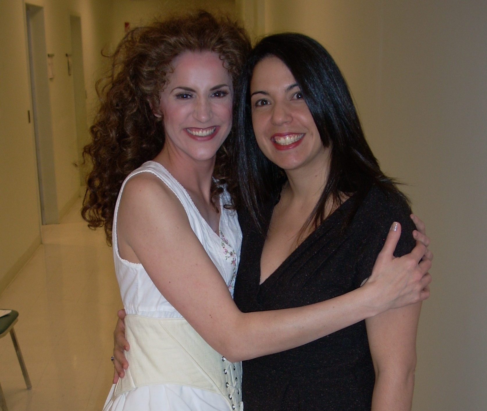 With manager and friend, Ana De Archuleta