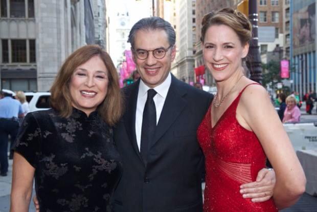 With Maestro Rovaris at Opera Philadelphia's 40th Anniversary Gala
